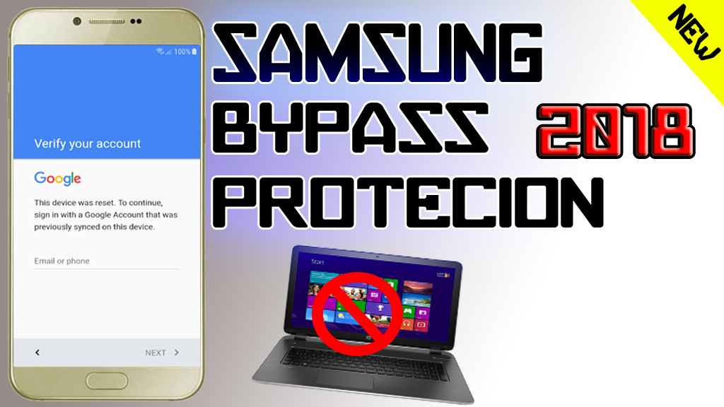 SAMSUNG BYPASS FRP (2018) PROTECTION LOCK ON ANY SAMSUNG