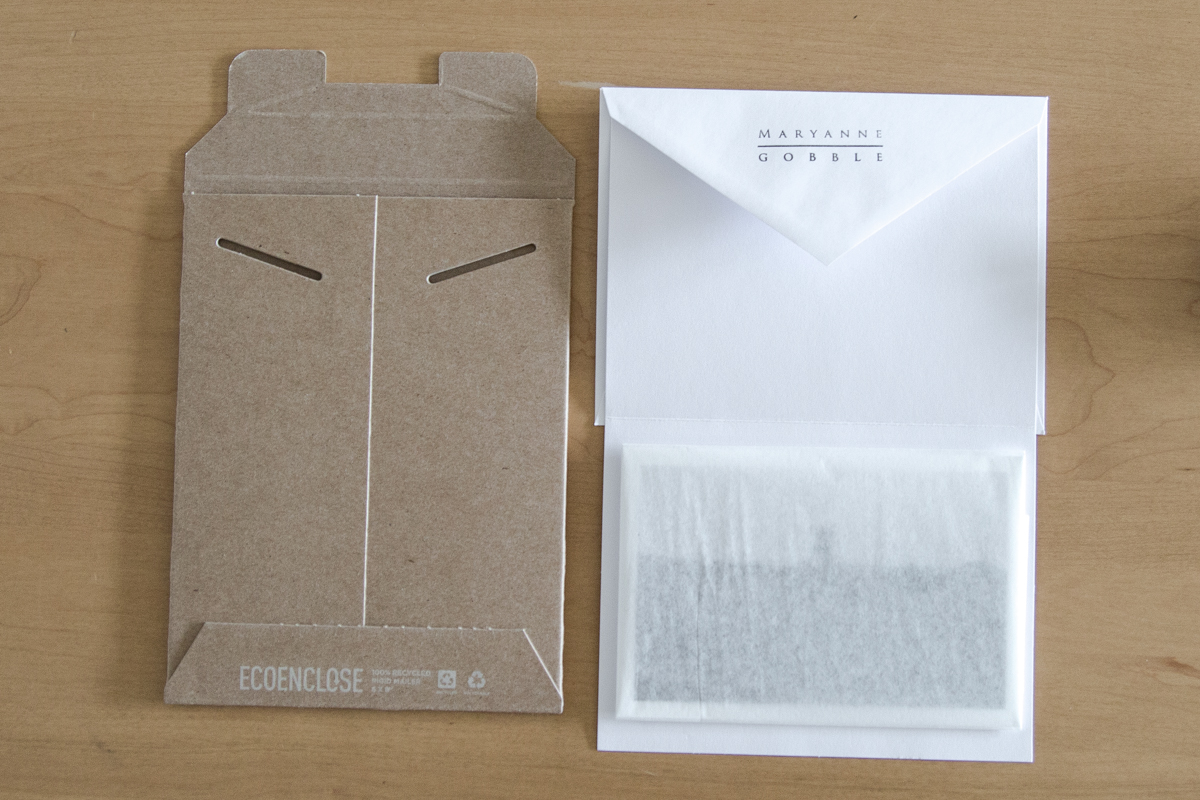 maryanne gobble photography eco friendly packaging and shipping