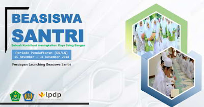 Info Program Beasiswa Santri LPDP