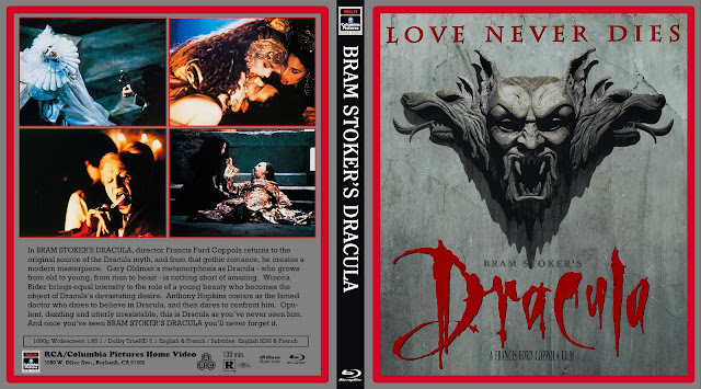 Bram Stoker's Dracula Bluray Cover