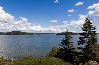 Skagit Bay, South Fidalgo Island,  Washington, USA