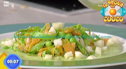 Tagliatelle primavera ricetta Zoppolatti da Prova del Cuoco