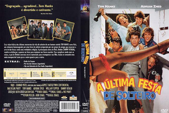 Capa DVD A Última Festa de Solteiro
