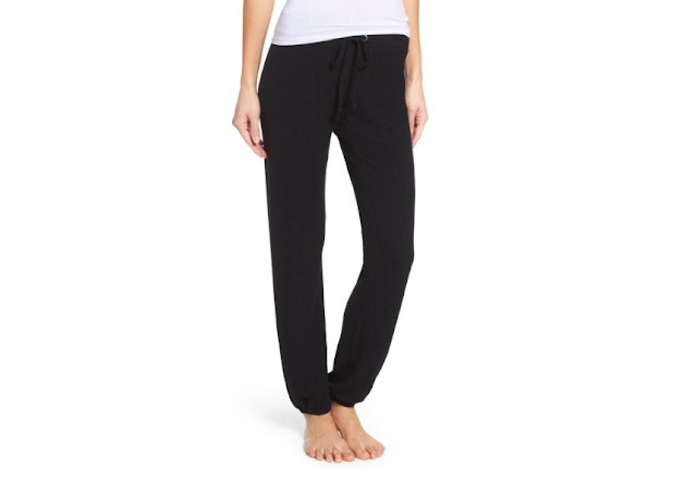 Woman's legs in comfortable stylish pants