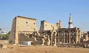 Luxor Temple the heart of the ancient city of Thebes