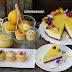 Kek Keju Dadih Lemon / Lemon Curd Cheese Cake