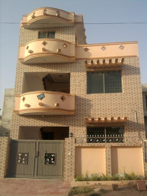 New home designs latest pakistan modern homes front designs for Small frontage house designs