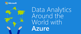 Data Analytics Around the World with Azure - Infographic