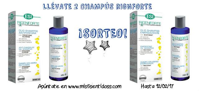 Champús Rigenforte de ESI + Sorteo