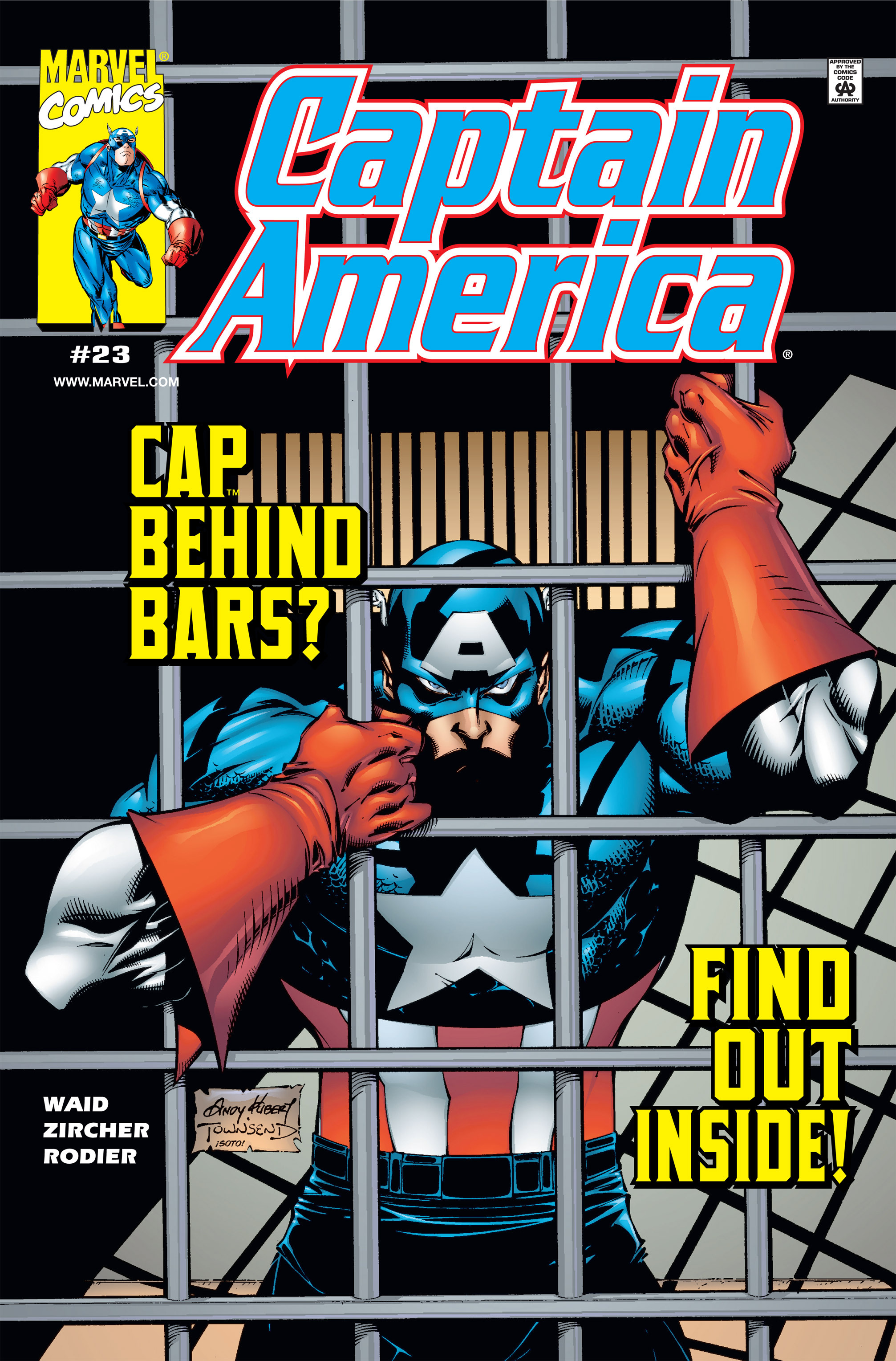 Captain America (1998) Issue #23 #29 - English 1