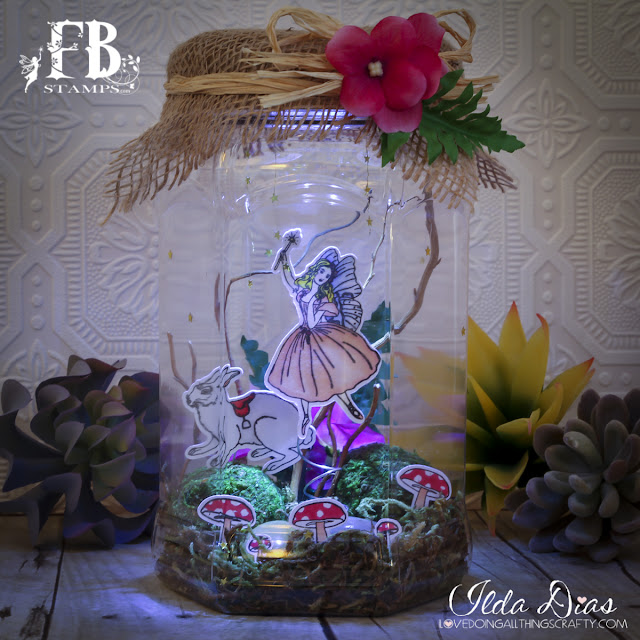 Fairy Wishes Terrarium by ilovedoingallthingscrafty