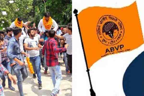 abvp-lost-election-in-dusu-on-president-and-vp-post-nsui-win