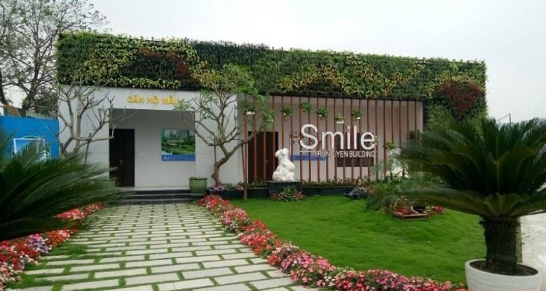Căn hộ mẫu Trung Yên Smile Building