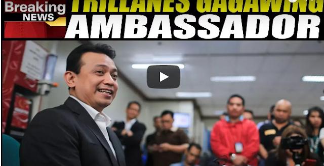 Trillanes Gagawin Ng Ambassador