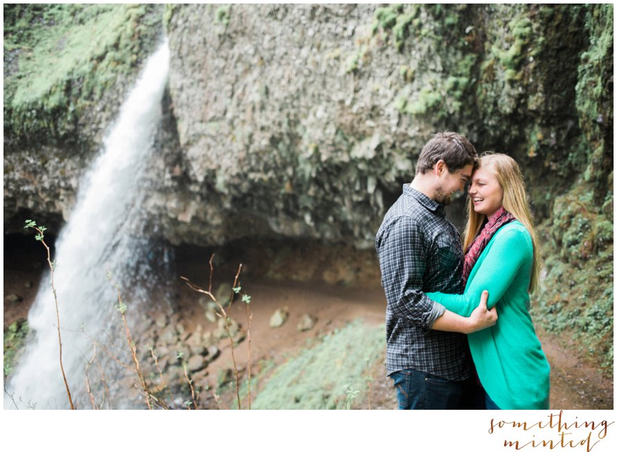 Horsetail Falls Engagement Session