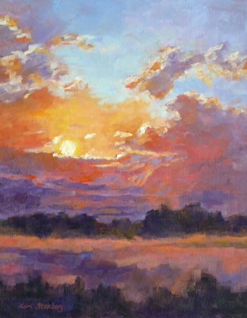 Kim Stenberg' Painting Journal December 2012