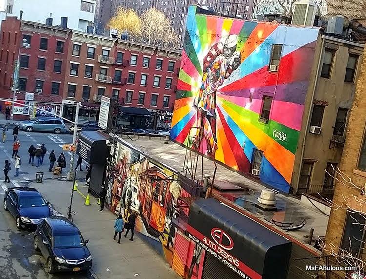 chelsea mural graffiti