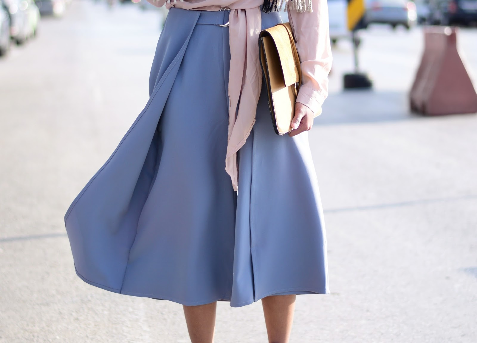 how to style cropped culottes