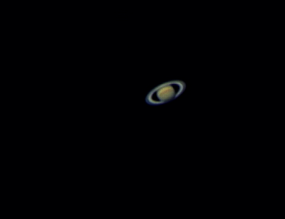 Saturn over the Coachella Valley, CA 5-2-16