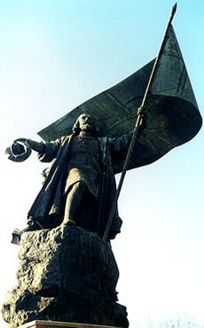 statue of Pedro Álvares Cabral