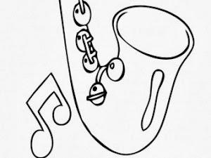 Disegni Da Colorare Strumenti Musicali