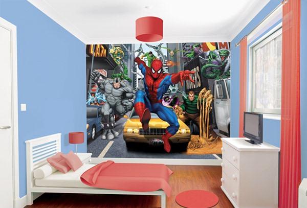 desain kamar tidur unik untuk anak laki laki rancangan