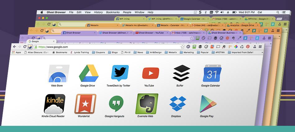 تحميل برنامج Ghost Browser مجانا coobra.net