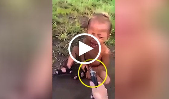 (VIDEO) KEJAM!!! Budak 2 Tahun Ini Terseksa.. Dah La Diliwat, Ditembak Dengan Pistol Renjat!!!
