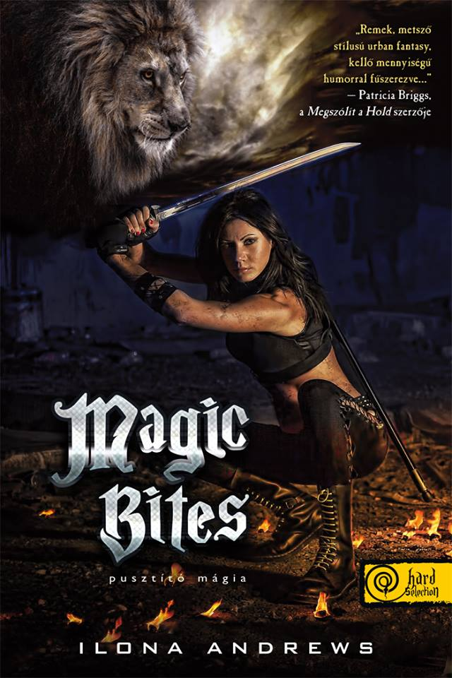 Borítóleleplezés - Ilona Andrews - Magic Bites