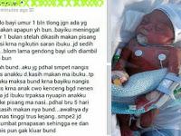 Tragis! Cerita Bayi 1 Bulan yang Meninggal Dunia Karena Diberi Makan Pisang