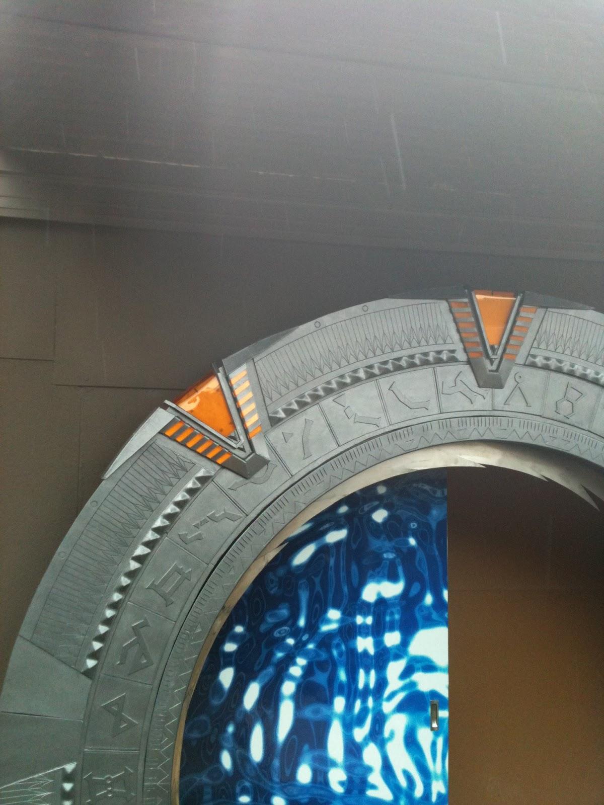 Home Made Stargate Door Stargate Door Pics