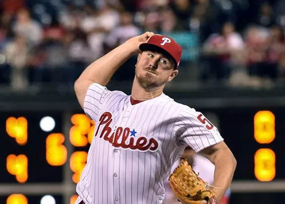 Mark Leiter Jr. is one of several young Phillies aiming for a rotation spot