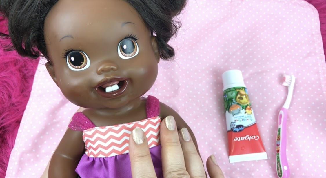 Baby's New Teeth / Lalka Pierwszy Ząbek - Baby Alive ...  |Baby Alive New Teeth