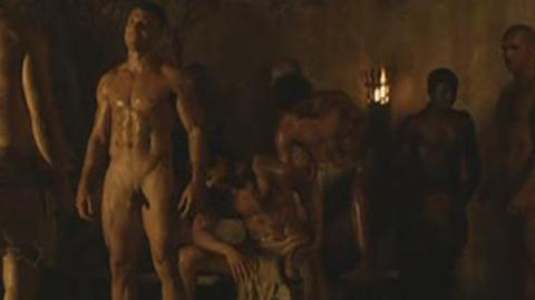 spartacus nudity