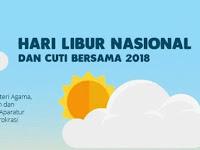 RESMI : Hari Libur Nasional dan Cuti Bersama Tahun Ajaran 2018