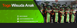 konveksi toga wisuda anak murah di cikutra Bandung