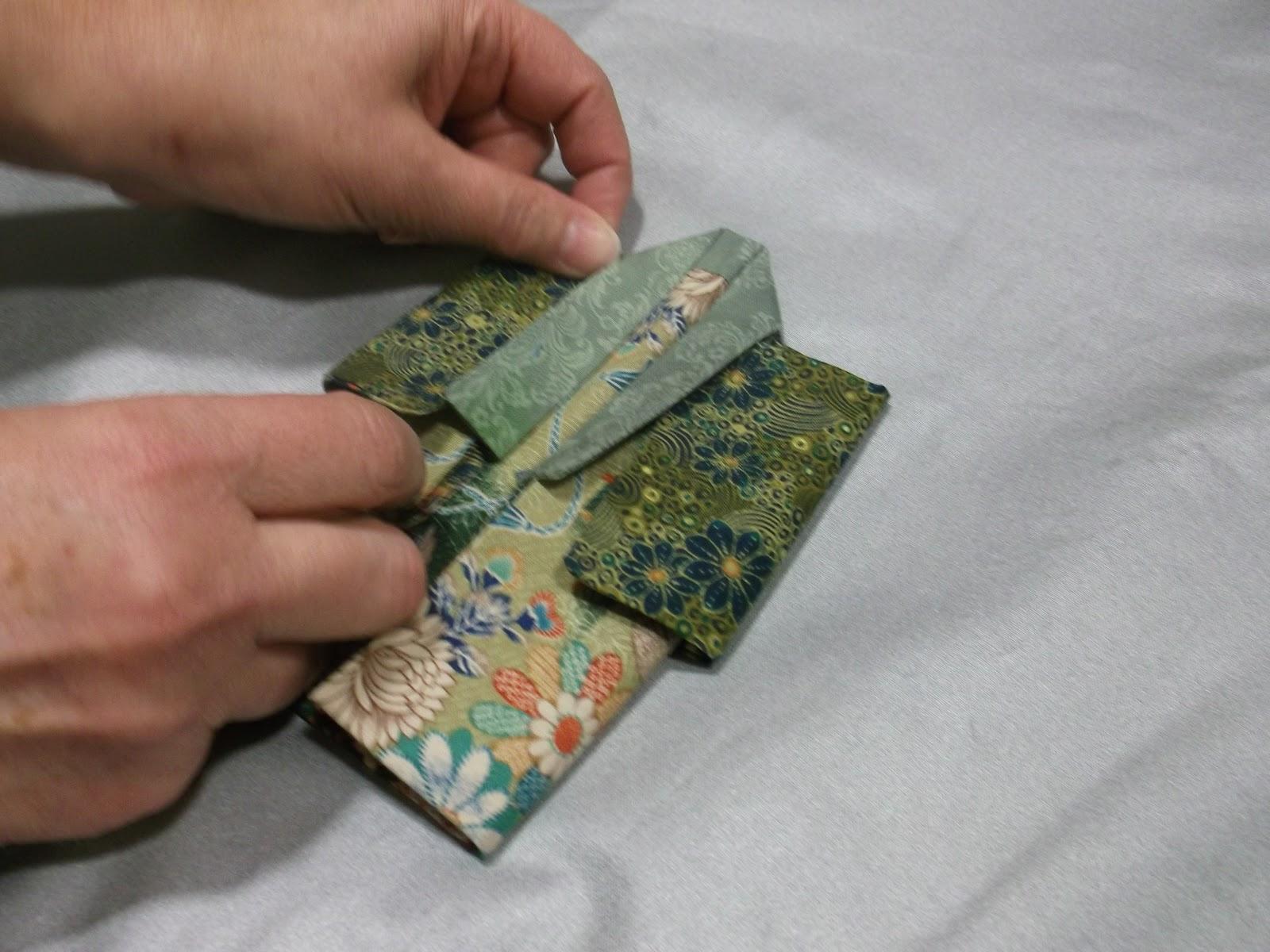 ASG in the SLC: Fabric Origami Kimono Tutorial