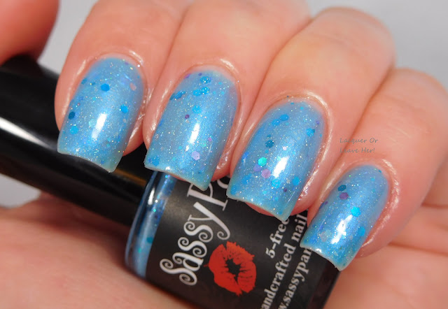 Sassy Pants Polish Mermaid of the Oceans Blue