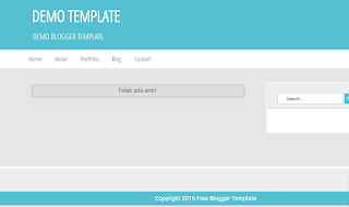 Template Blog Toko Online Gratis dan Simple
