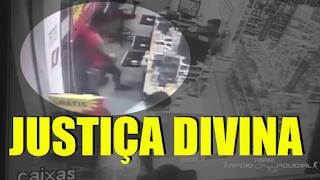 [VÍDEO] LADRÃO TEM INFARTO DURANTE O ROUBO