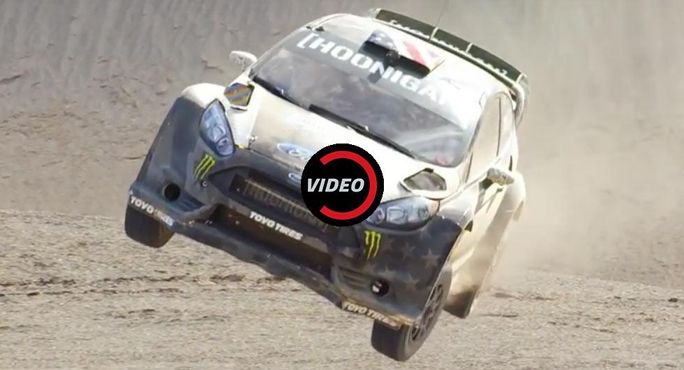 Rally star Ken Block releases new Terrakhana video