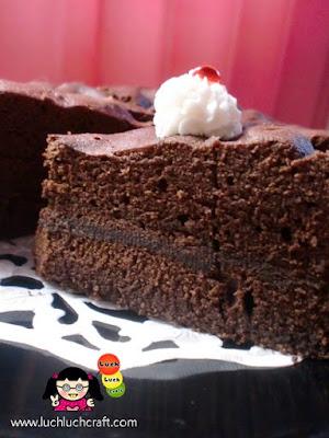 cara membuat brownies mudah