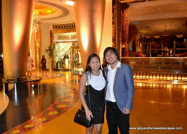 celebrating love and life at Burj Al Arab
