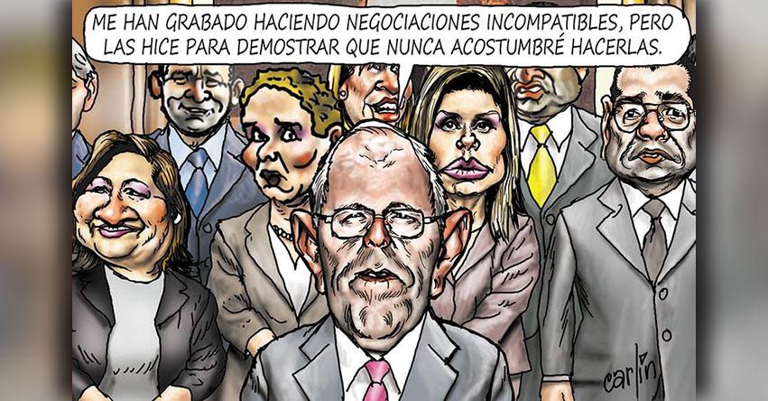 Carlincaturas Sábado 24 Marzo 2018 - La República