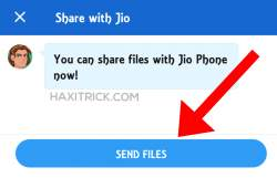 send files in jio phone from android smartphone