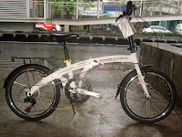Sepeda Lipat Element Maxx Aluminium Alloy Frame 20 Inci