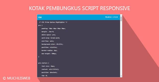kotak script responsive
