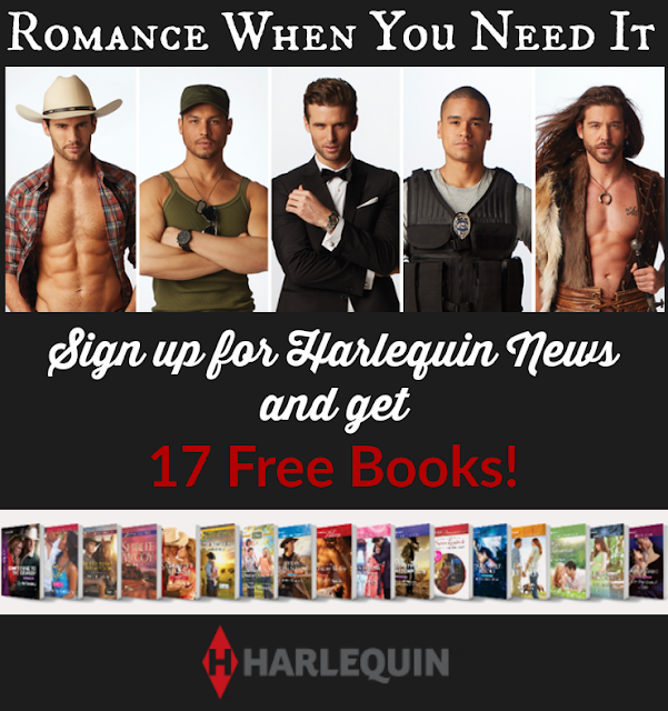 Enjoy a little Romance When You Need It from Harlequin Books