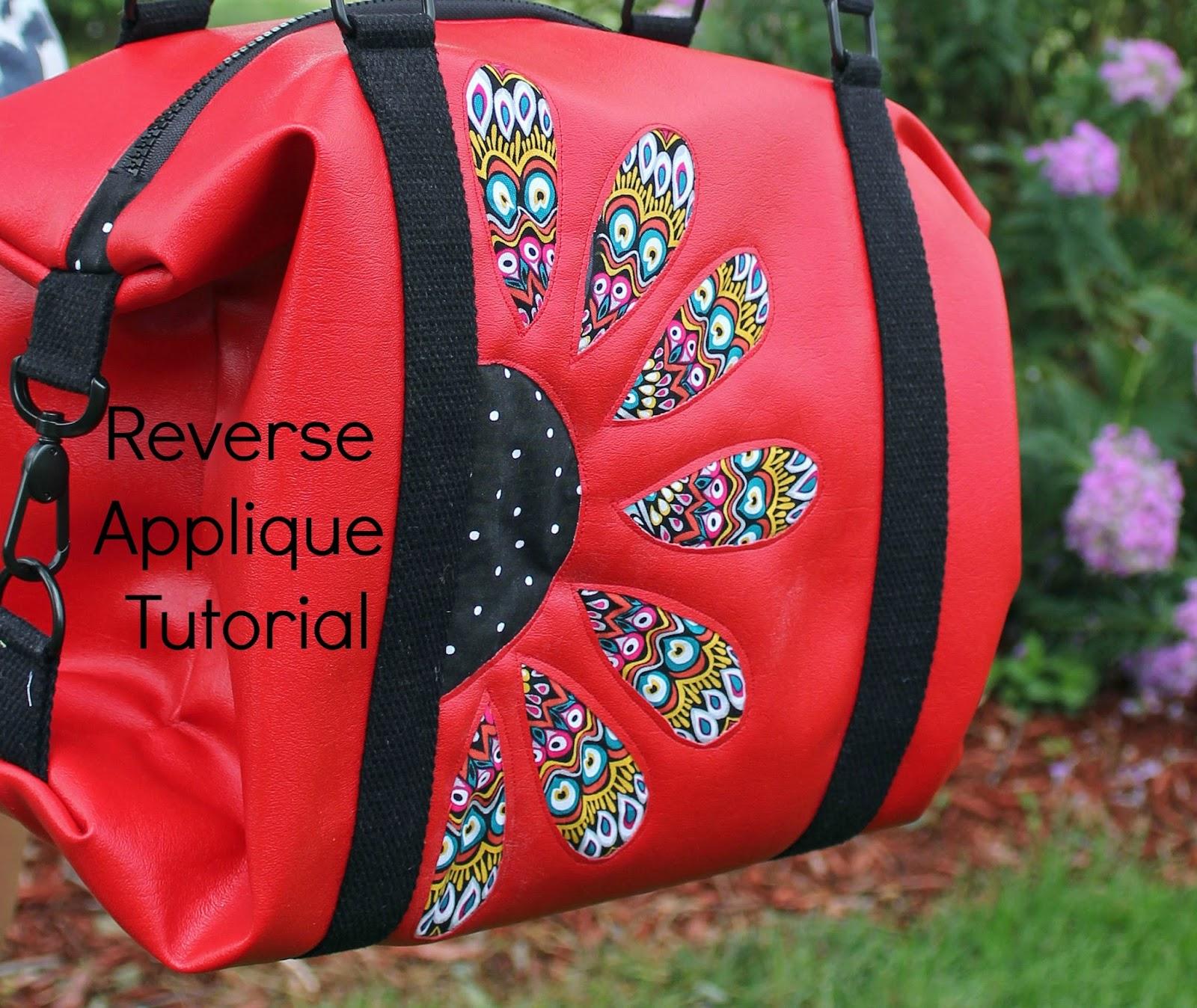 Reverse Applique Tutorial | Girls in the Garden