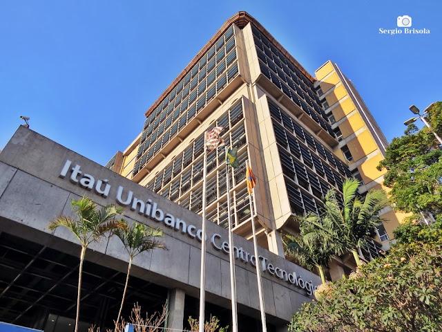 Vista ampla do Centro Tecnológico Itaú Unibanco - Mooca - São Paulo